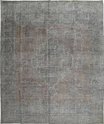 Colored Vintage Rug 295X355 Authentic  Modern Handknotted Dark Grey/Light Grey Large (Wool, Persia/Iran)