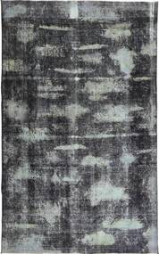 Colored Vintage Rug 188X308 Authentic  Modern Handknotted Dark Grey/Light Grey (Wool, Persia/Iran)