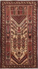 Beluch Matto 110X200 Itämainen Käsinsolmittu Tummanpunainen/Tummanruskea (Villa, Persia/Iran)