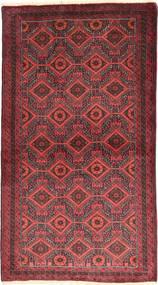 Beluch Tappeto 105X186 Orientale Fatto A Mano Rosso Scuro/Ruggine/Rosso (Lana, Persia/Iran)