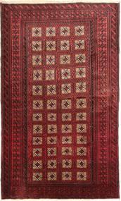 Beluch Tæppe 110X190 Ægte Orientalsk Håndknyttet Mørkerød (Uld, Persien/Iran)