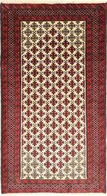 Belouch Alfombra 105X195 Oriental Hecha A Mano Rojo Oscuro/Beige (Lana, Persia/Irán)