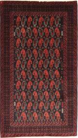 Beluch Covor 110X195 Orientale Lucrat Manual Roșu-Închis/Maro Închis (Lână, Persia/Iran)