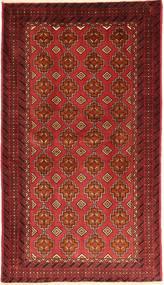 Beluch Tappeto 105X185 Orientale Fatto A Mano Rosso Scuro/Ruggine/Rosso (Lana, Persia/Iran)