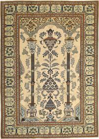 Keshan Patina Teppe 228X325 Ekte Orientalsk Håndknyttet Mørk Beige/Mørk Brun (Ull, Persia/Iran)