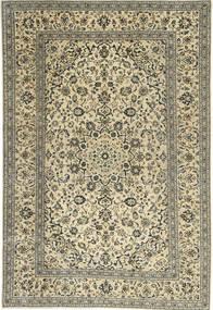 Keshan Patina Teppe 198X292 Ekte Orientalsk Håndknyttet Olivengrønn/Mørk Beige (Ull, Persia/Iran)