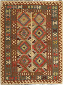Kilim Afghan Old style carpet AXVQ137