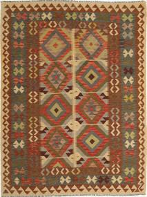 Kilim Afghan Old style carpet AXVQ137