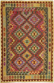 Kilim Afghan Old style carpet AXVQ642