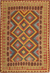 Kilim Afghan Old style carpet AXVQ652