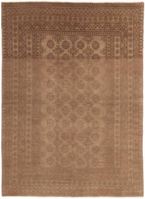 Afghan Rug 158X226 Authentic  Oriental Handknotted Brown (Wool, Afghanistan)