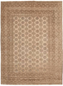 Afghan Rug 196X274 Authentic  Oriental Handknotted Light Brown/Brown (Wool, Afghanistan)