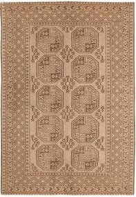 Afghan Matto 158X238 Itämainen Käsinsolmittu Vaaleanruskea/Ruskea (Villa, Afganistan)