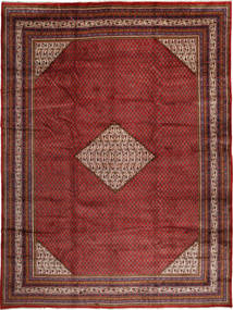 Sarouk Mir Rug 295X395 Authentic  Oriental Handknotted Dark Red Large (Wool, Persia/Iran)