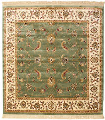 Sarina - Green Rug 200X200 Modern Square Dark Beige/Dark Grey ( Turkey)