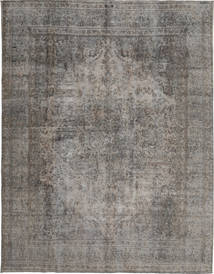Colored Vintage Rug 287X377 Authentic  Modern Handknotted Light Grey/Dark Grey Large (Wool, Persia/Iran)