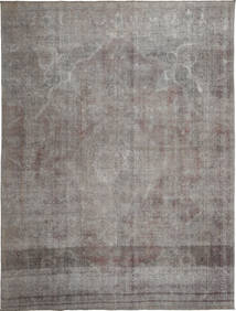 Colored Vintage Rug 279X374 Authentic  Modern Handknotted Light Grey/Dark Grey Large (Wool, Persia/Iran)