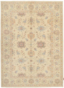 Ziegler Rug 176X234 Authentic  Oriental Handknotted Light Brown/Dark Beige (Wool, Pakistan)