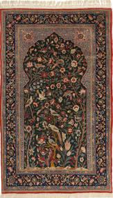 Tappeto Isfahan ordito in seta ABCW3