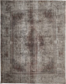 Colored Vintage Rug 280X368 Authentic  Modern Handknotted Dark Grey/Light Grey Large (Wool, Persia/Iran)