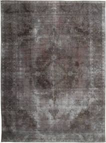Colored Vintage Rug 279X380 Authentic  Modern Handknotted Dark Grey/Light Grey Large (Wool, Persia/Iran)
