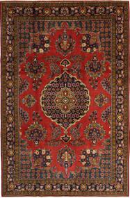 Golpayegan Matto 207X320 Itämainen Käsinsolmittu Tummanpunainen (Villa, Persia/Iran)