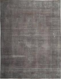 Colored Vintage Tapete 288X380 Moderno Feito A Mão Cinza Escuro/Cinzento Claro Grande (Lã, Pérsia/Irão)