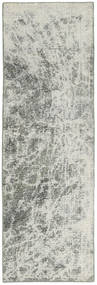 Colored Vintage Teppe 70X230 Ekte Moderne Håndknyttet Teppeløpere Lys Grå/Mørk Grå (Ull, Persia/Iran)