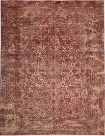 Colored Vintage Rug 285X365 Authentic  Modern Handknotted Dark Red/Brown/Light Brown Large (Wool, Persia/Iran)