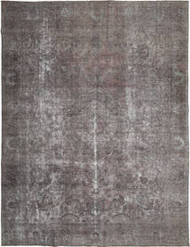 Colored Vintage Rug 288X374 Authentic  Modern Handknotted Dark Brown/Light Grey Large (Wool, Persia/Iran)