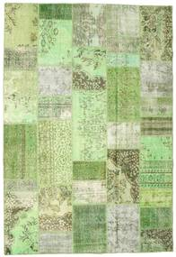Patchwork Rug 202X297 Authentic  Modern Handknotted Light Green/Pastel Green (Wool, Turkey)