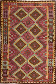 Kilim Afghan Old style carpet AXVQ674