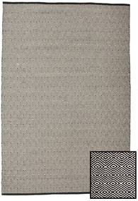 Diamond - Black Rug 160X230 Authentic  Modern Handwoven Dark Grey/Light Grey/Beige (Cotton, India)