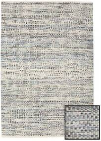 Pebbles - Grey/Blue Mix Rug 140X200 Authentic  Modern Handwoven Light Grey/Dark Grey ( India)