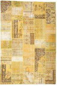 Patchwork Rug 200X298 Authentic  Modern Handknotted Yellow/Beige (Wool, Turkey)