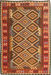 Kilim Afghan Old style carpet AXVQ628