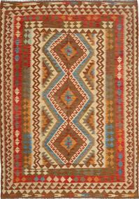 Kilim Afghan Old style carpet AXVQ605