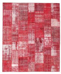 Patchwork Rug 253X305 Authentic  Modern Handknotted Pink/Crimson Red/Rust Red Large (Wool, Turkey)