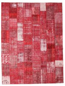 Patchwork Tapis 301X400 Moderne Fait Main Rouge/Rouille/Rouge Grand (Laine, Turquie)