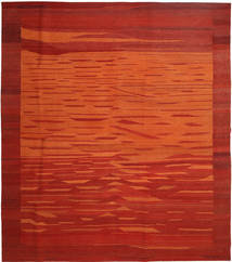 Kilim Modern Rug 258X301 Authentic  Modern Handwoven Rust Red/Orange Large (Wool, Persia/Iran)