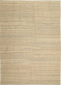 Kilim Modern Rug 210X297 Authentic  Modern Handwoven Beige/Light Grey (Wool, Persia/Iran)