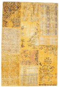 Patchwork Rug 119X176 Authentic  Modern Handknotted Light Brown/Yellow (Wool, Turkey)