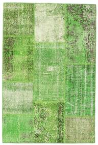 Patchwork Rug 120X182 Authentic Modern Handknotted Light Green/Pastel Green (Wool, Turkey)