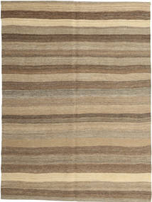 Kilim Modern Rug 150X204 Authentic  Modern Handwoven Light Brown (Wool, Persia/Iran)