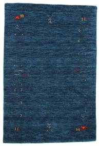 Gabbeh Loom Frame - Dark Blue Rug 100X160 Modern Dark Blue (Wool, India)