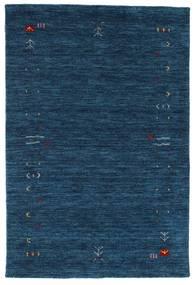 Gabbeh Loom Frame - Mörkblå matta CVD15938
