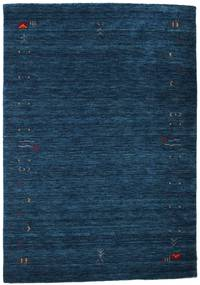 Tapis Gabbeh Loom Frame - Bleu foncé CVD15935