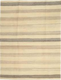 Kelim Modern Teppich  174X236 Echter Moderner Handgewebter Hellbraun/Gelb/Beige (Wolle, Persien/Iran)