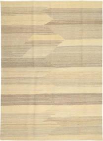 Kelim Moderni Matto 173X241 Moderni Käsinkudottu Vaaleanruskea/Keltainen/Tummanbeige (Villa, Persia/Iran)
