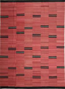 Kelim Moderni Matto 268X370 Moderni Käsinkudottu Ruoste/Tummanpunainen Isot (Villa, Persia/Iran)